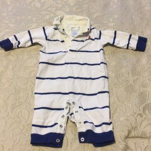 Ralph Lauren infant boy footie